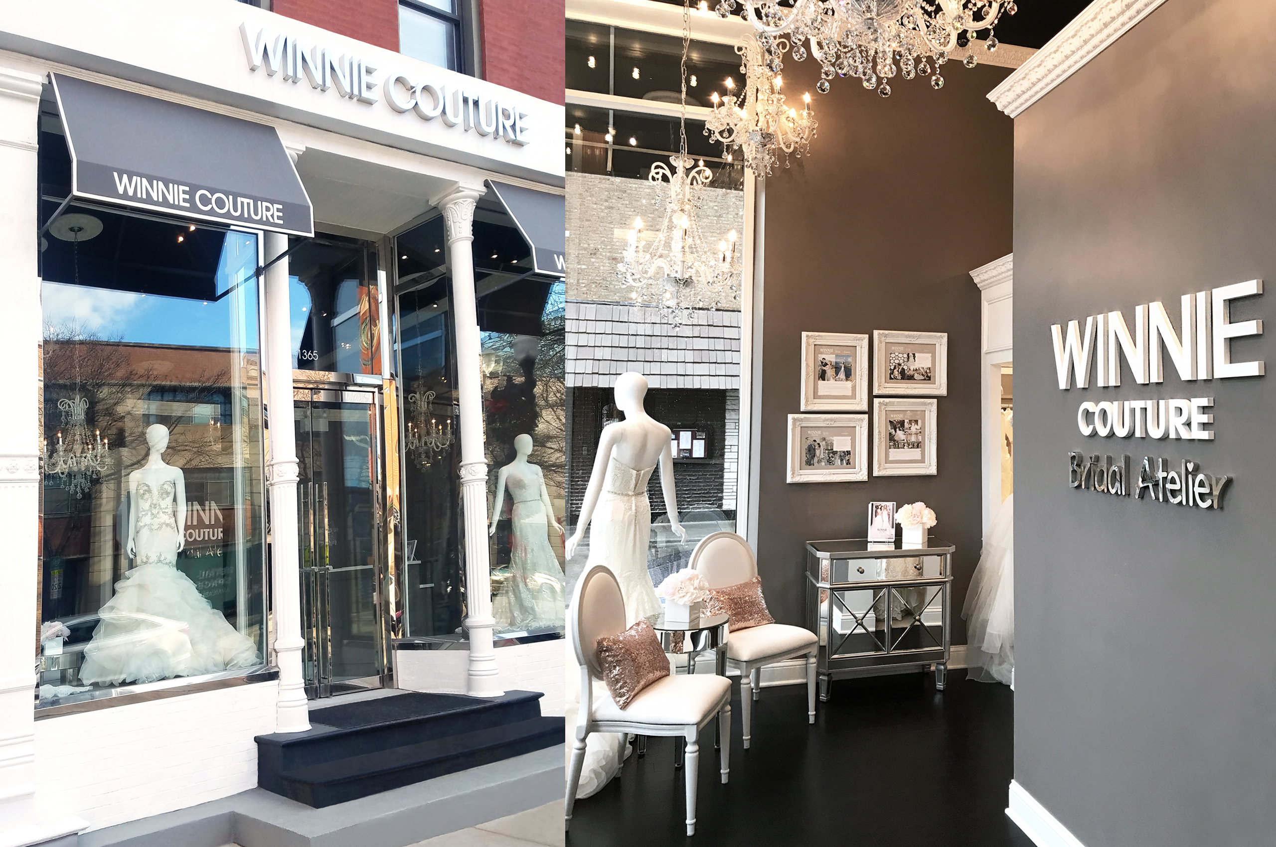 Winnie Couture Chicago Flagship Store in Old Town Chicago, Illinois